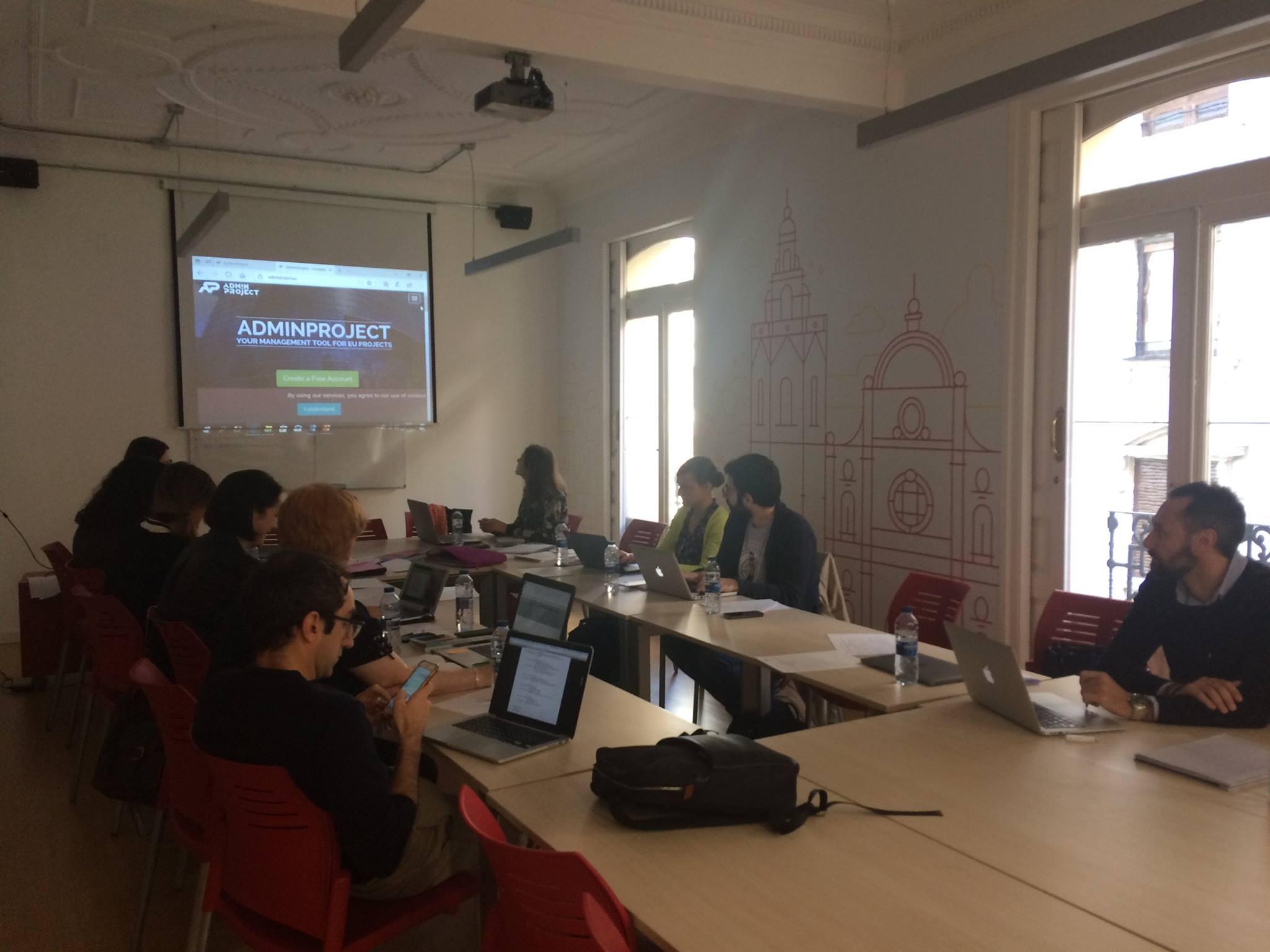 Se celebra la reunión de lanzamiento del proyecto EUROSTART en Valencia