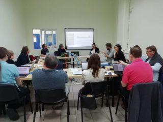 Kick Off Meeting Proyecto Idea en Larissa