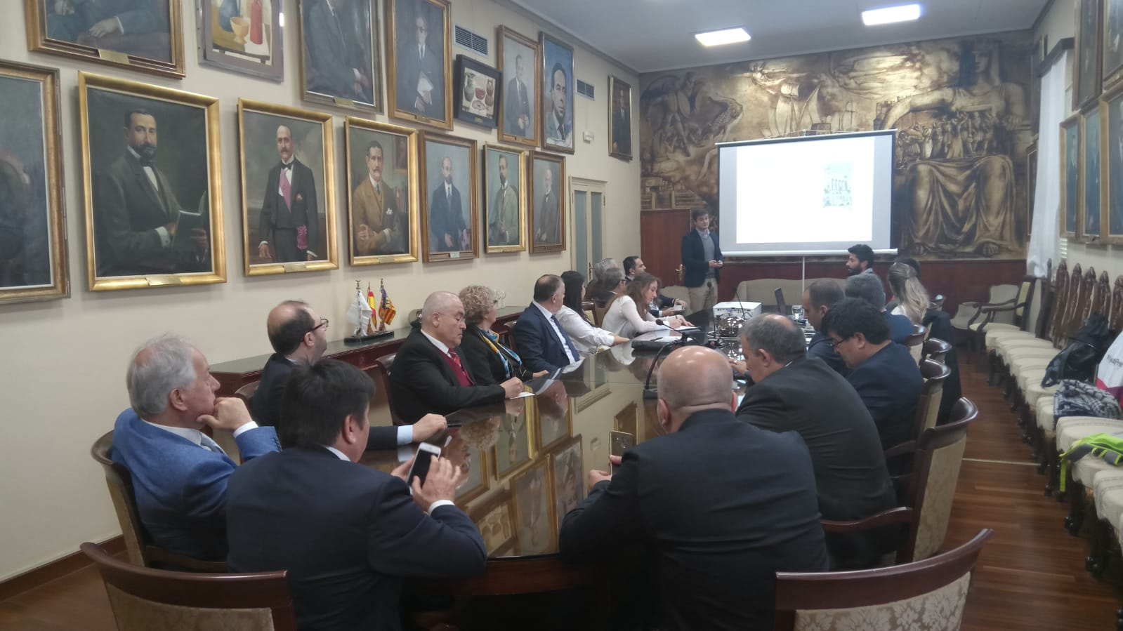 Visita de estudio de socios turcos a Valencia - Proyecto SME Academy
